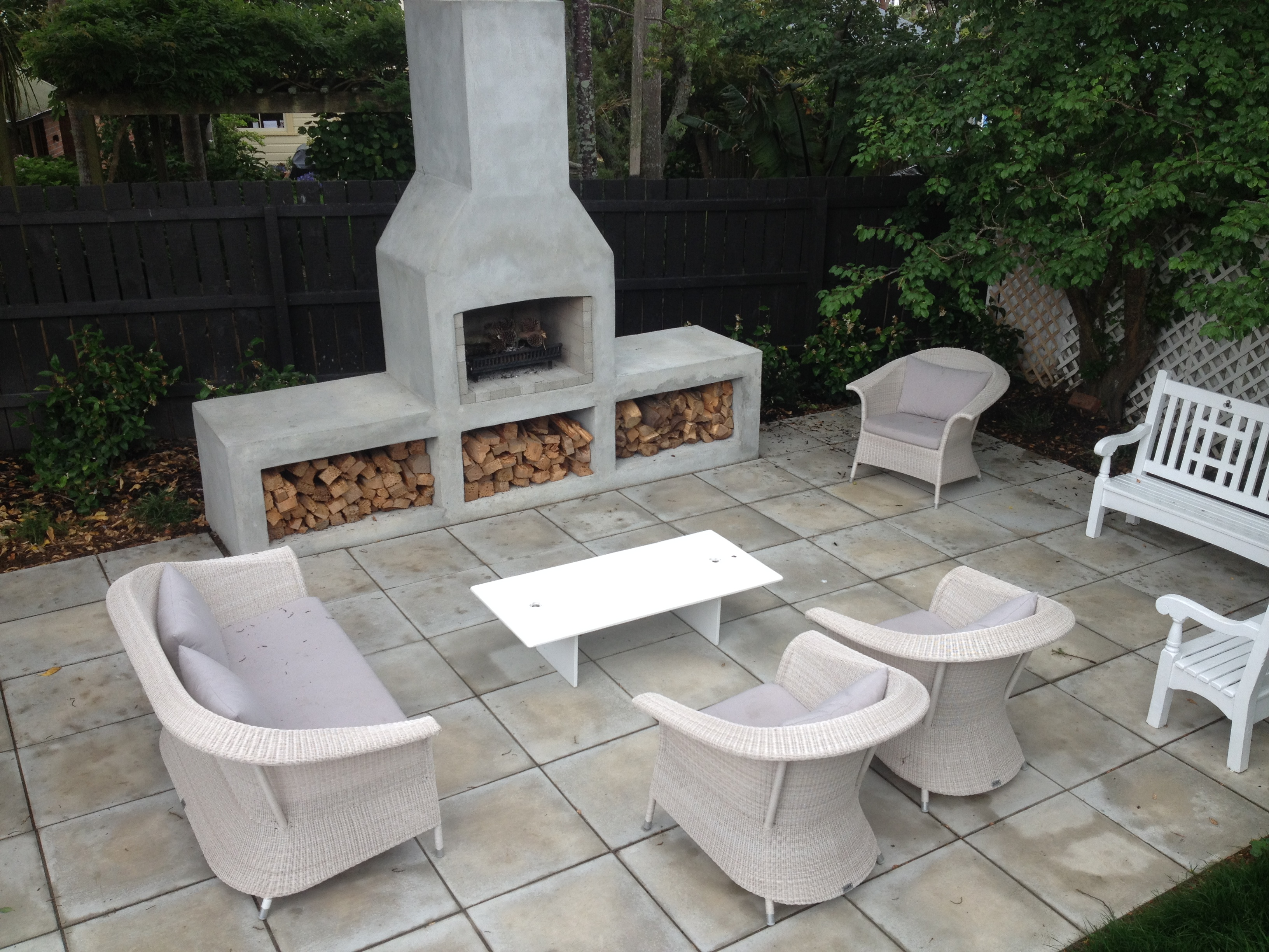 Garden paving ideas nz modern patio outdoor for Innovative landscapes christchurch